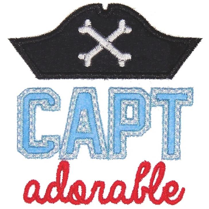 Capt Adorable Applique
