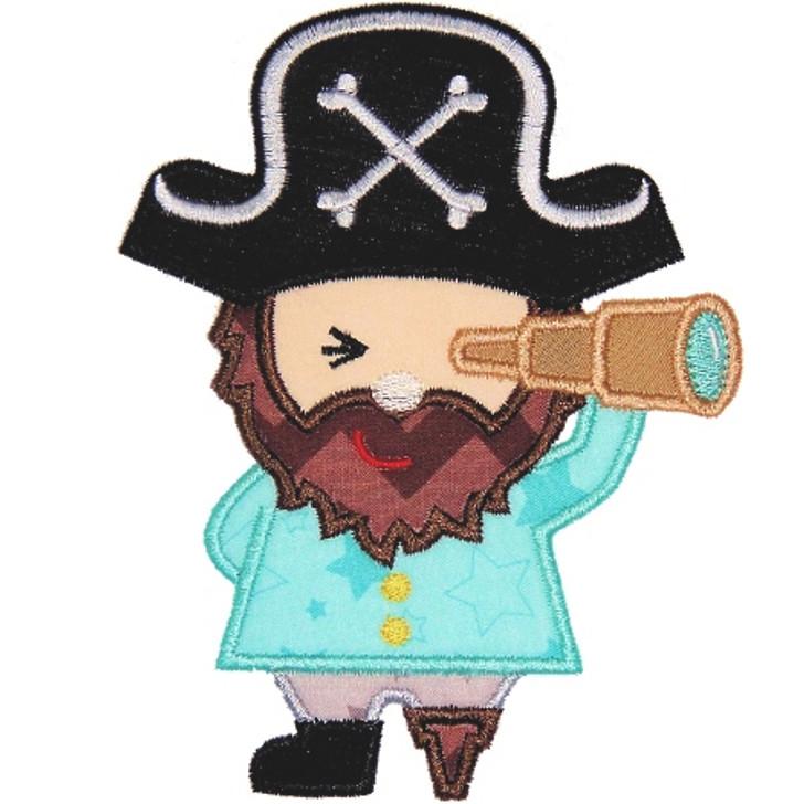 Pirate Applique