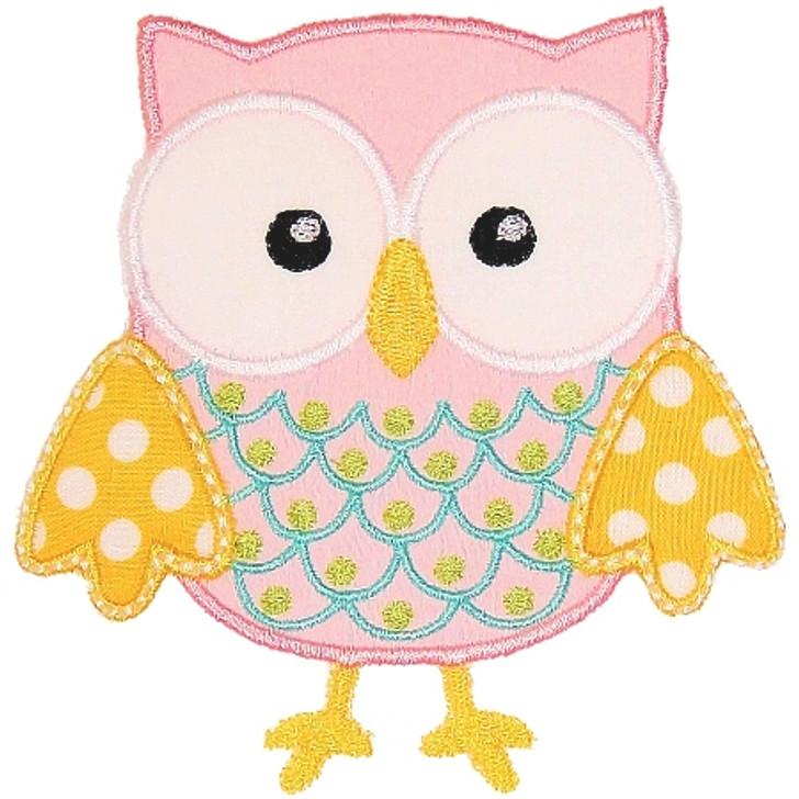 Owl 2 Applique