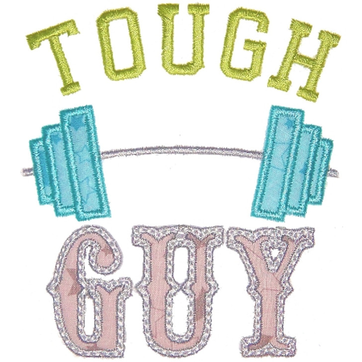 Tough Guy Applique