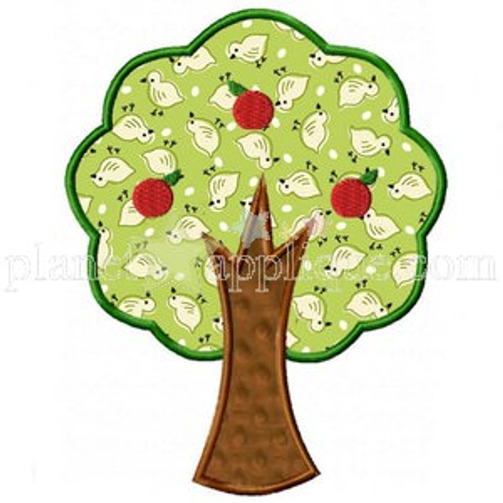 Apple Tree Applique