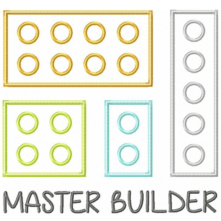 Master Builder Applique