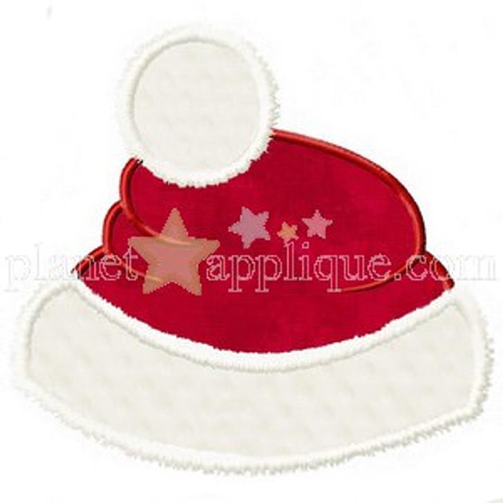 Santas Hat Applique