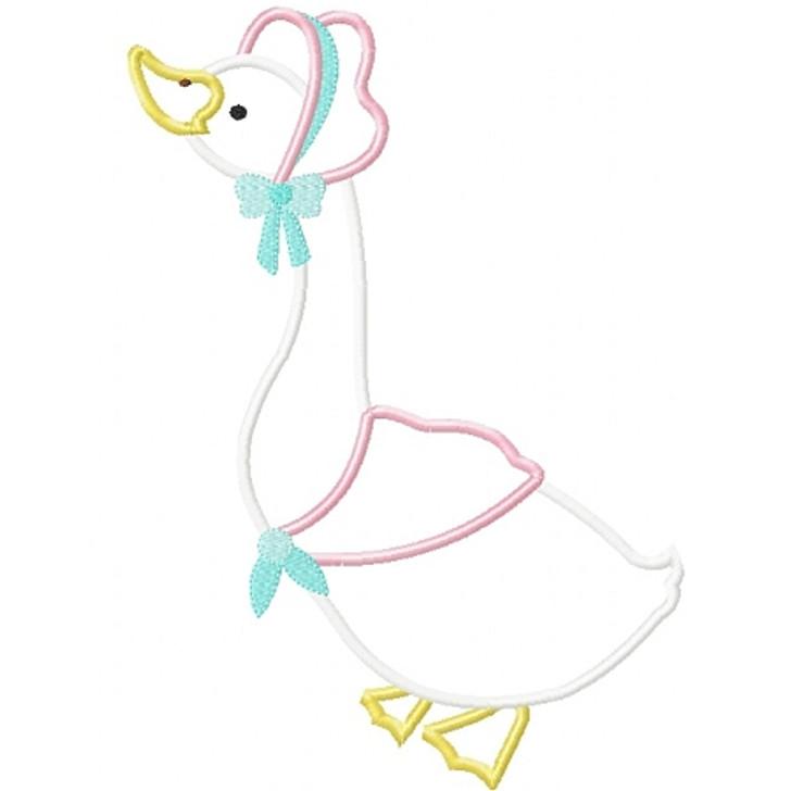 Mother Goose Applique