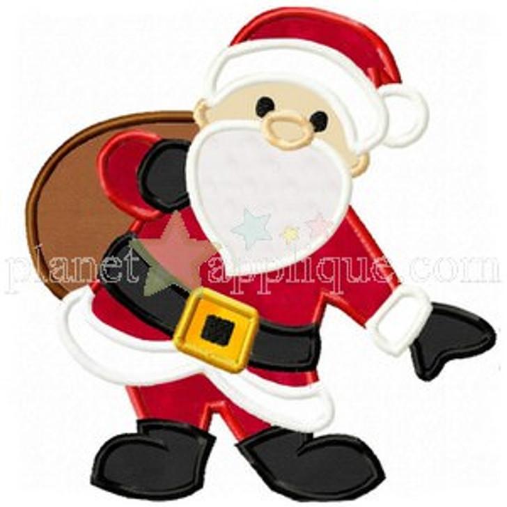 Santa Clause Applique