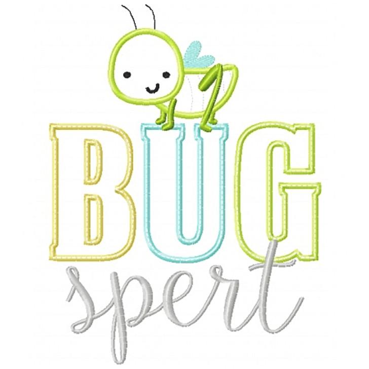 Bugspert Applique