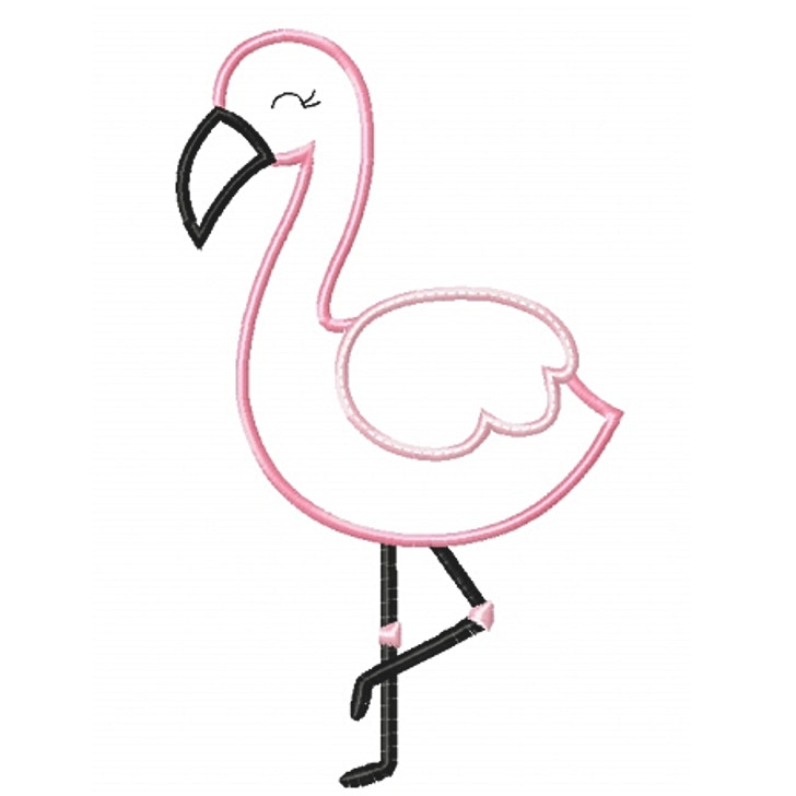 Flamingo 2 Applique