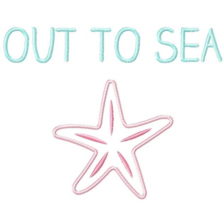 Out to Sea Applique
