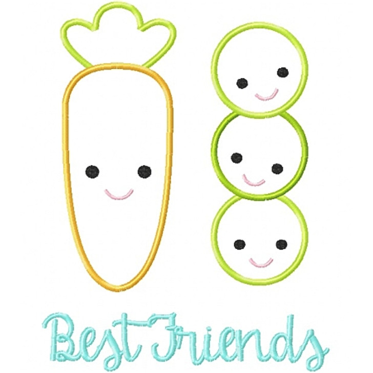 Peas and Carrots Besties