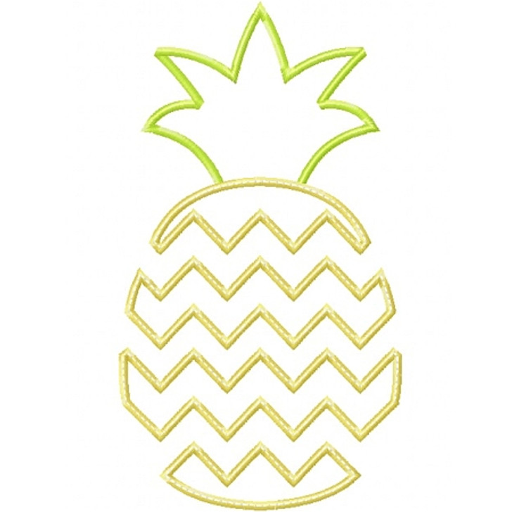 Chevron Pineapple Applique
