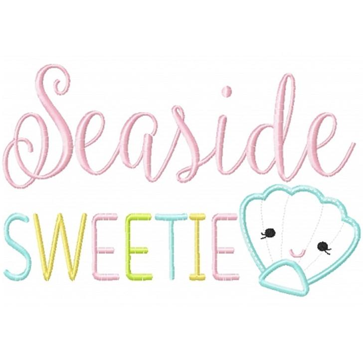 Seaside Sweetie Applique