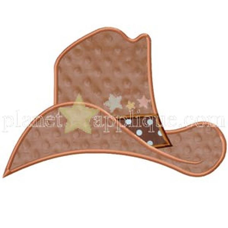 Cowboy Hat Applique