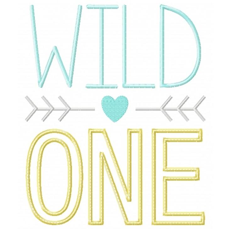 Wild One Applique