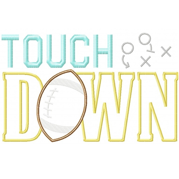 Touchdown Applique