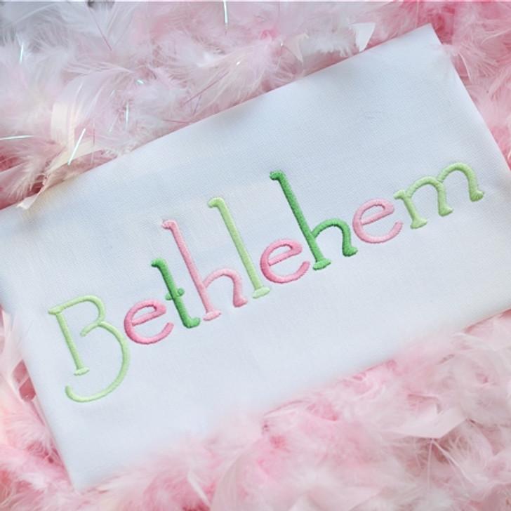 Bethlehem Font