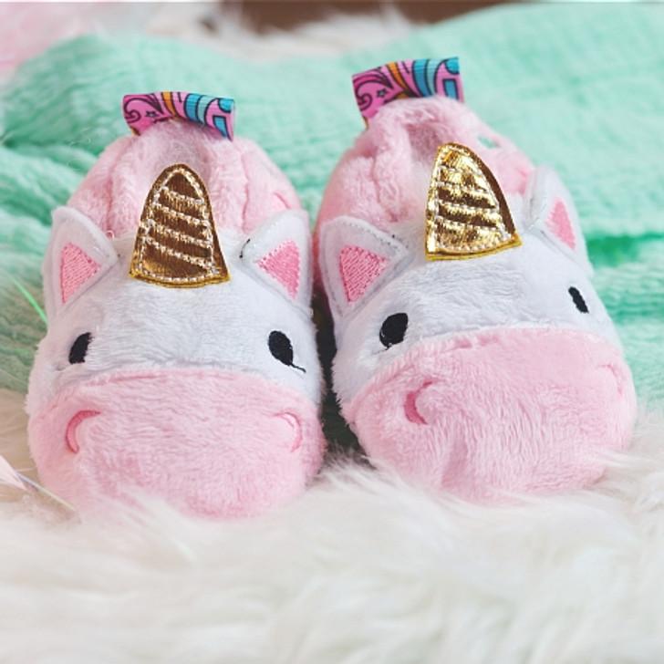 ITH Unicorn Baby Booties