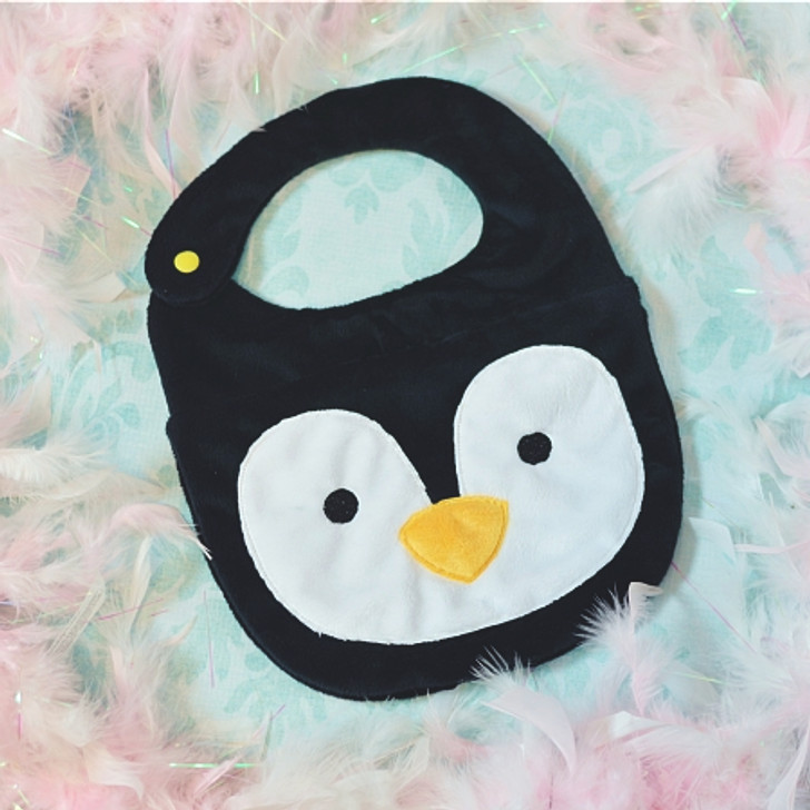 ITH Penguin Baby Bib