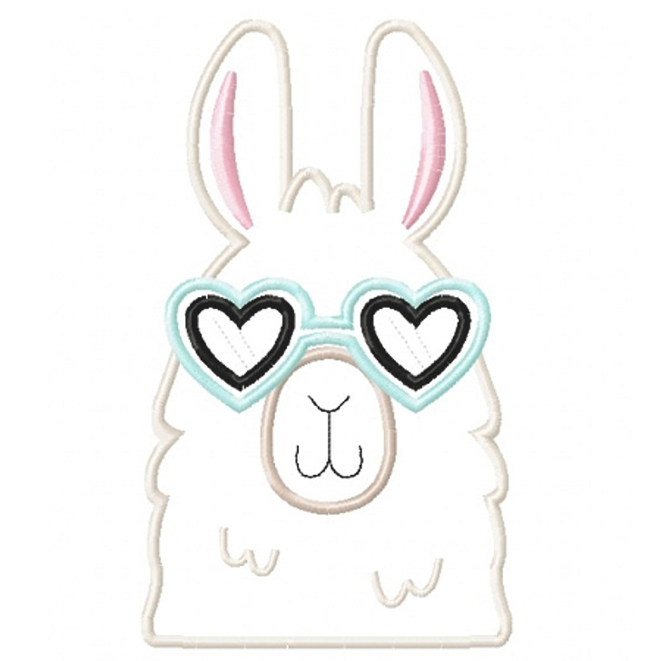 Cool Girl Llama