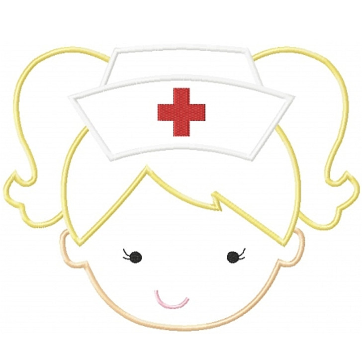 Nurse Girl Applique
