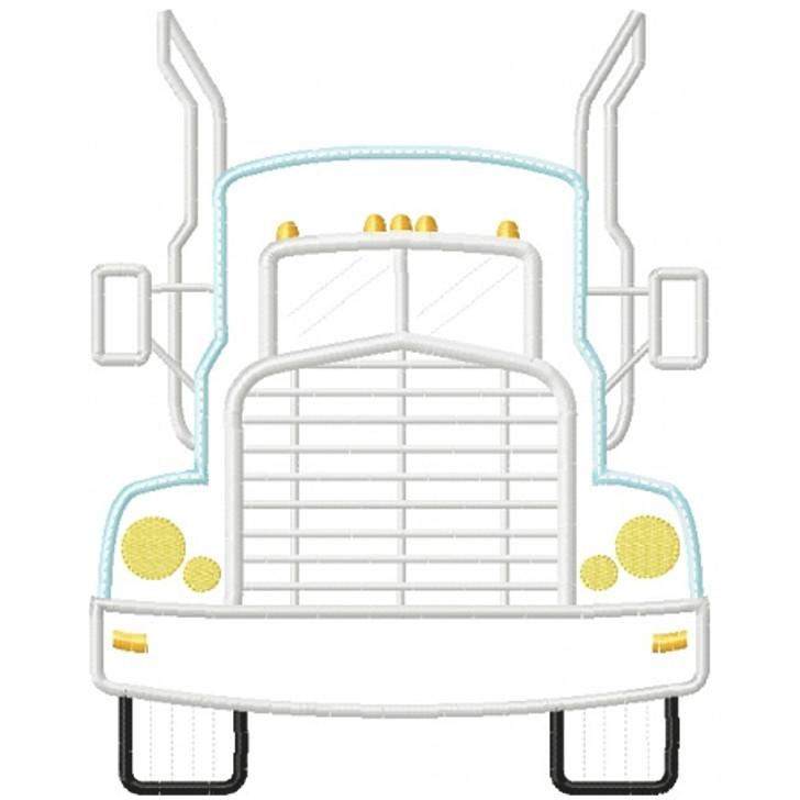 Semi Truck Applique