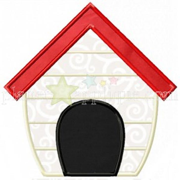 Dog House Applique
