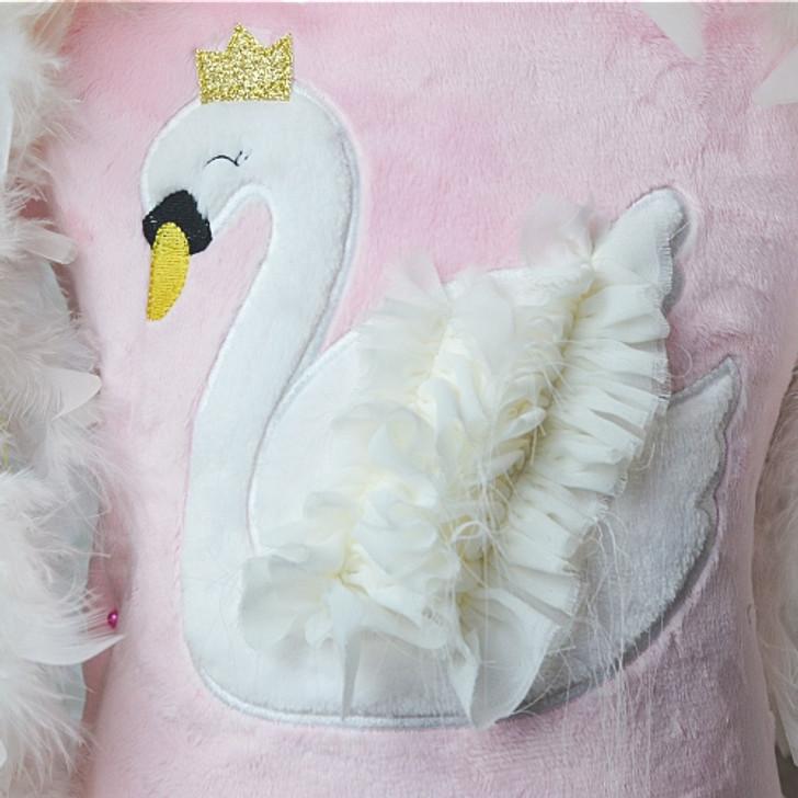 Swan Applique