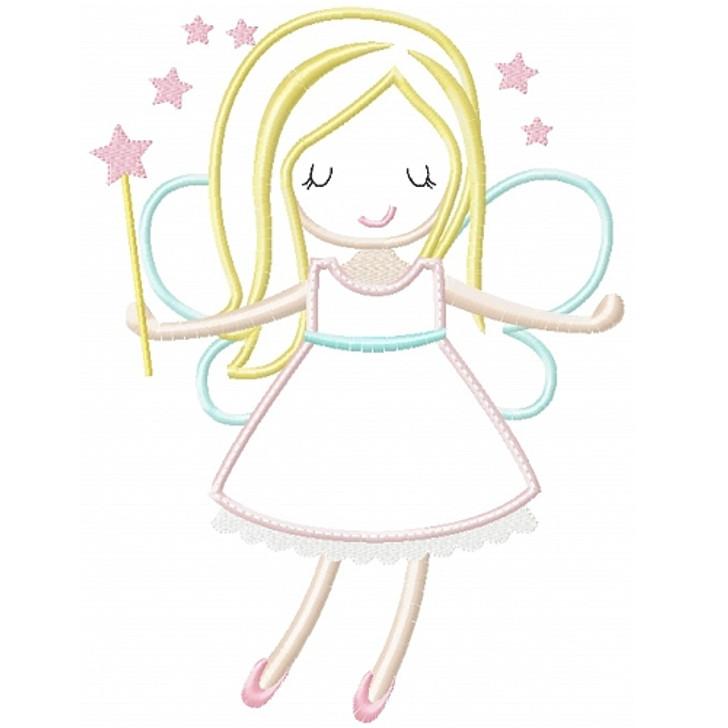 Sweet Fairy Applique
