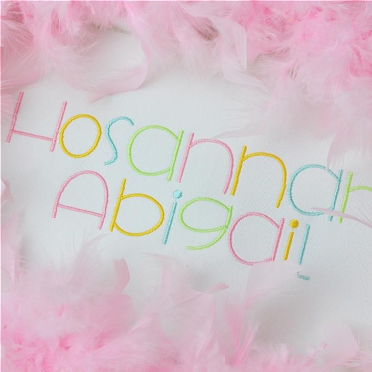 Hosannah Font