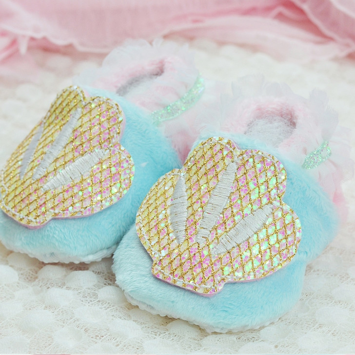 In the Hoop Mermaid Baby Booties