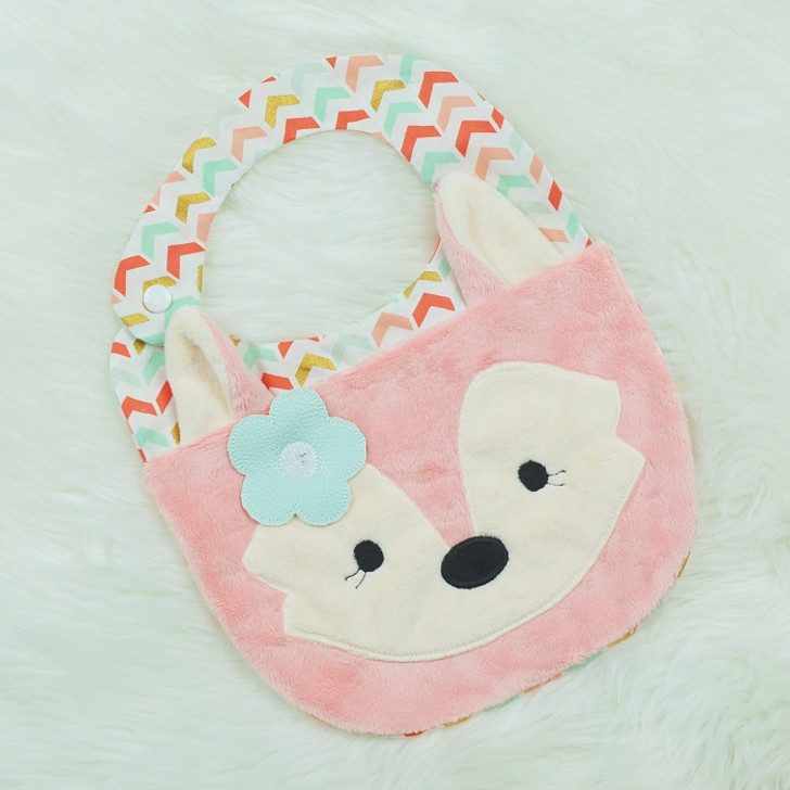 In the Hoop Fox Bib