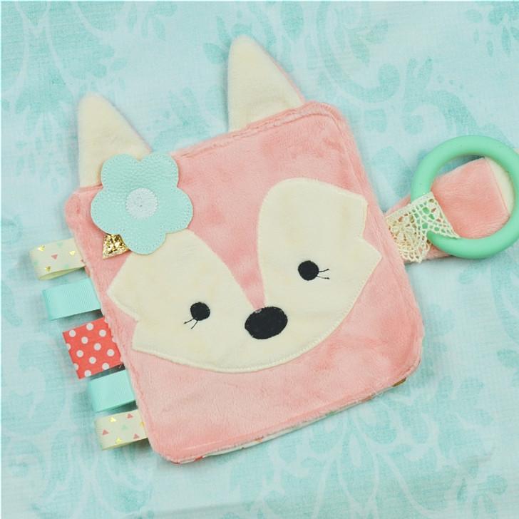 In the Hoop Fox Chew Toy