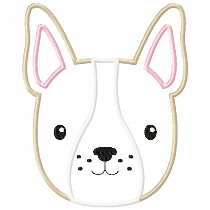 Boy Frenchie Satin and ZigZag Stitch