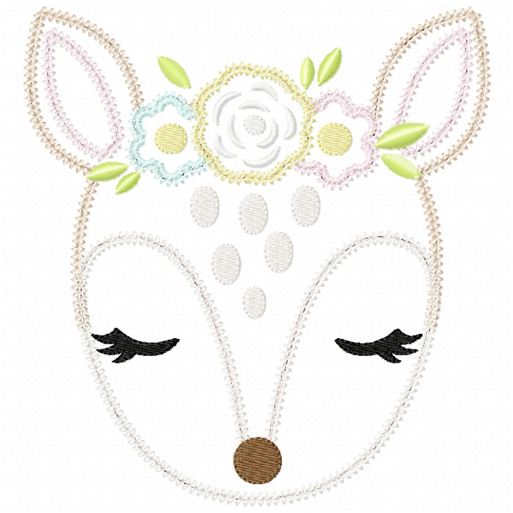 Sweet Fawn Vintage and Chain Stitch