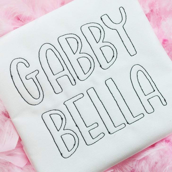 Gabby Open Font