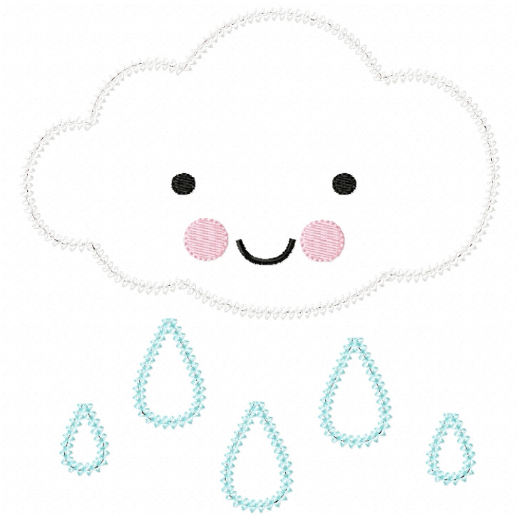 Raincloud Vintage and Chain Stitch