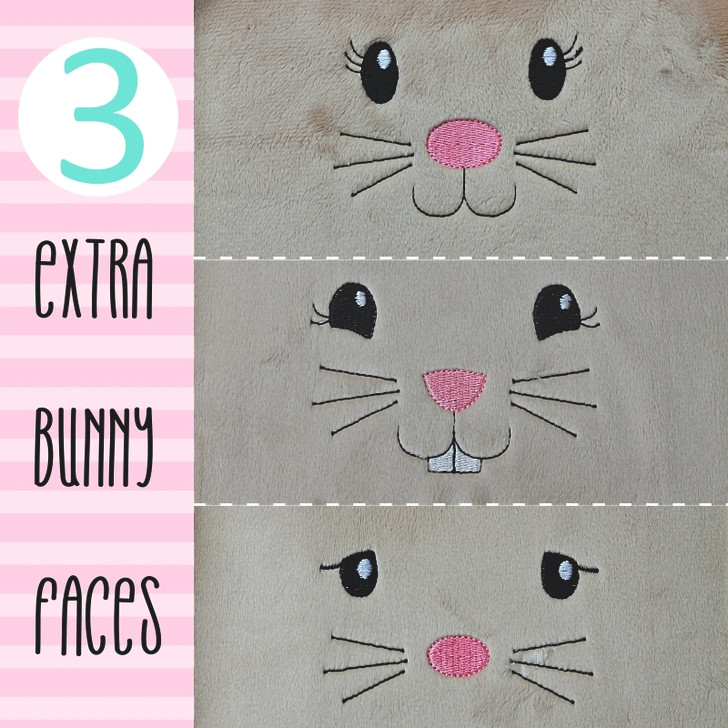 BEATRICE BUNNY FACES