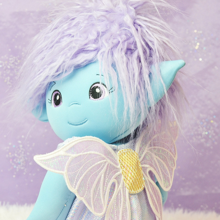 In the Hoop Posable Willow Fairy Baby Doll