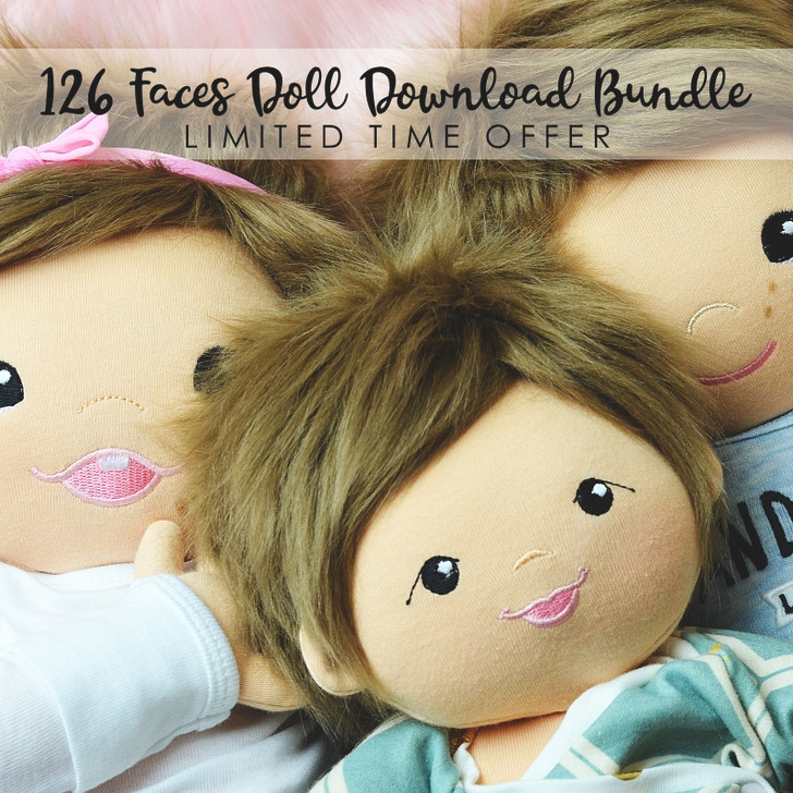HUGE 21 Face Doll Bundle-ALL THE NEW FACES