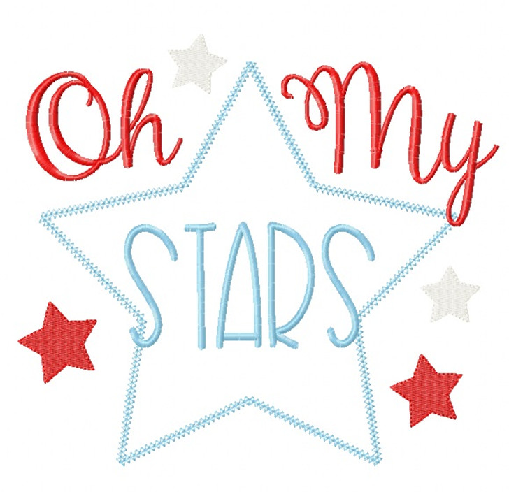 Oh My Stars Chain and Vintage Applique