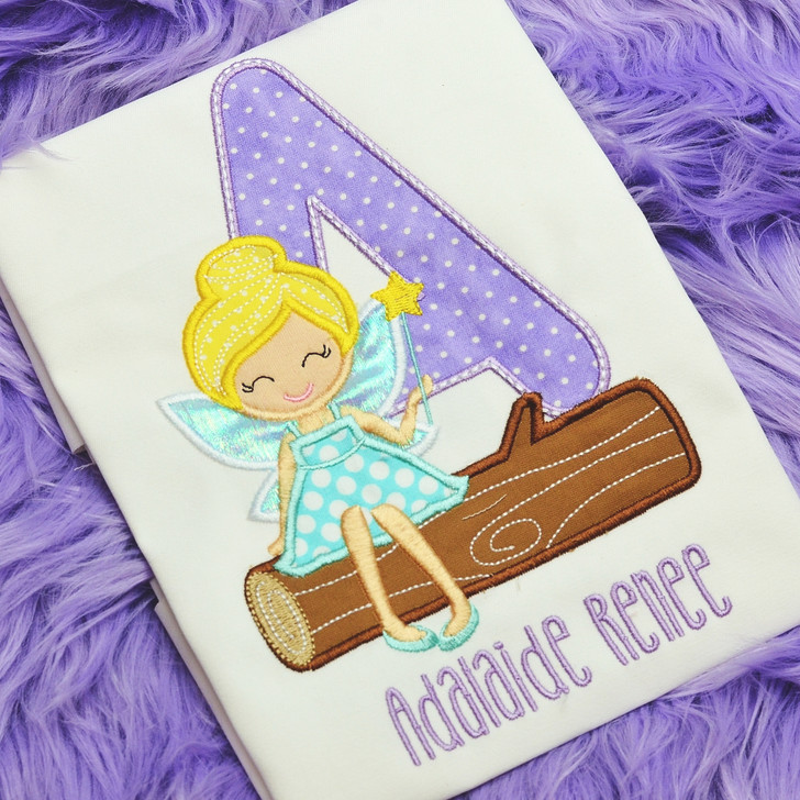 Fairy Applique Alphabet
