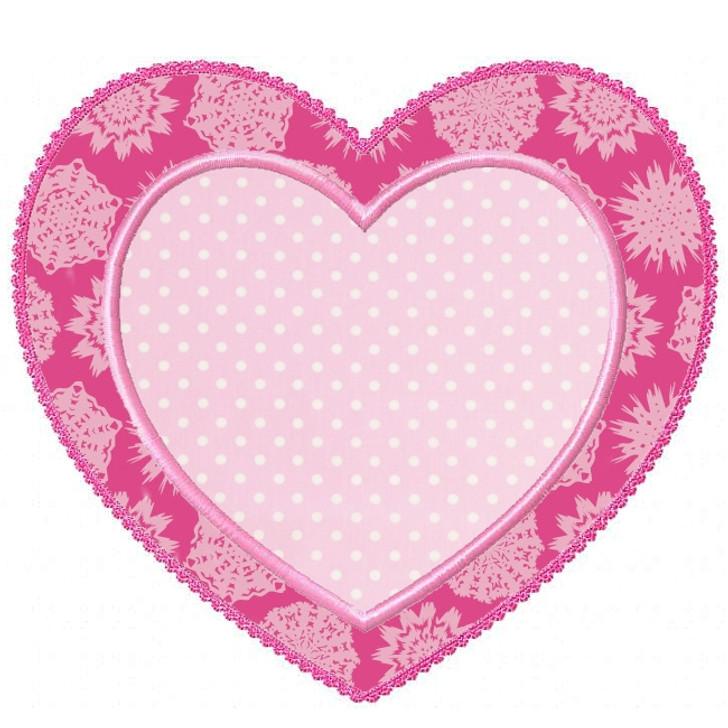 Heart Patch Applique