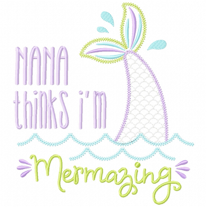 Nana Mermazing Chain and Vintage Applique