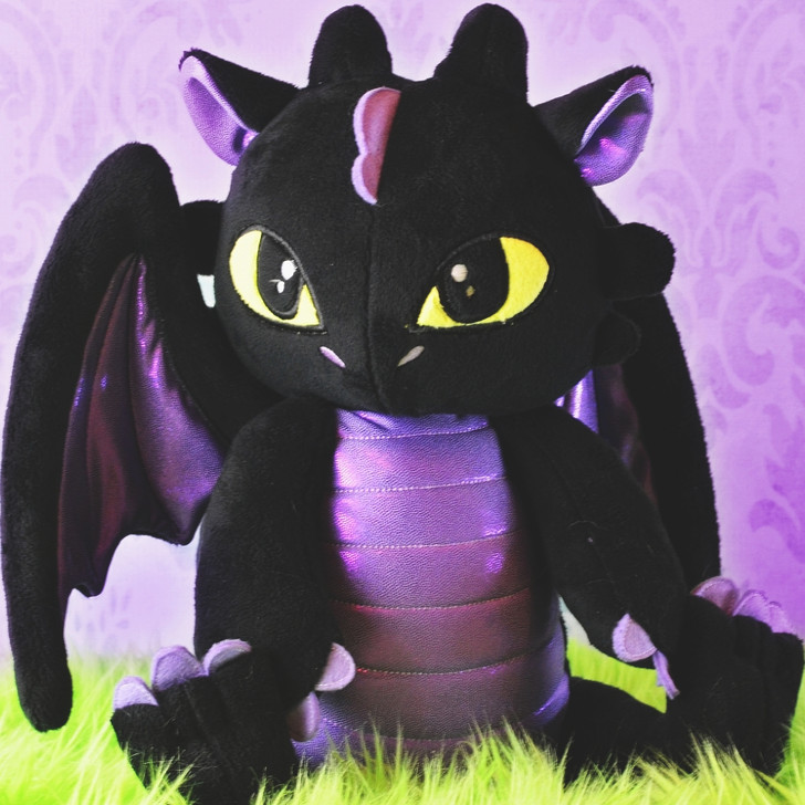 In the Hoop Draco Dragon Plush
