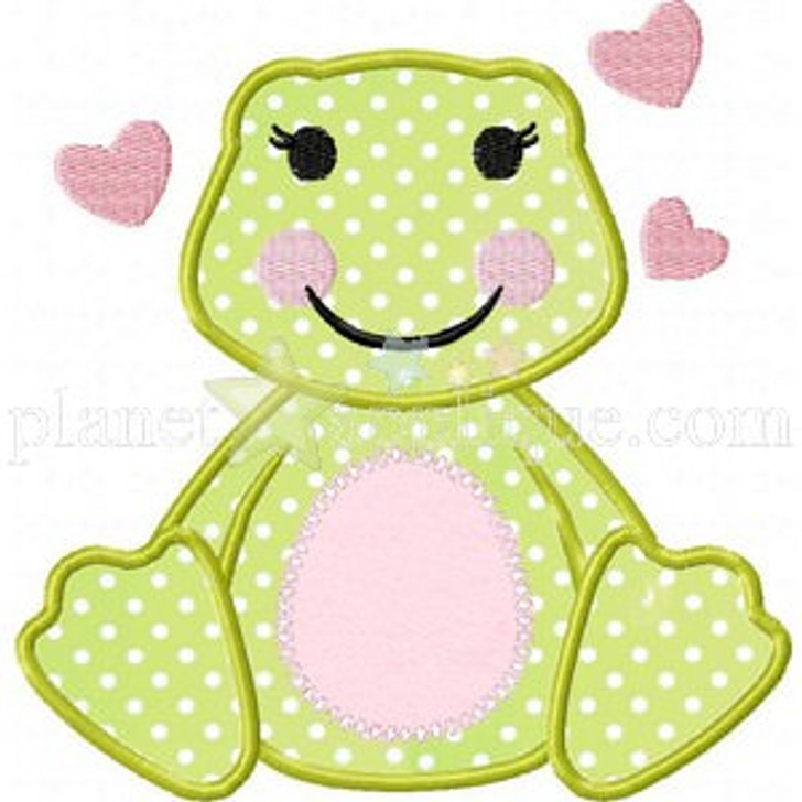 Lily Frog Applique