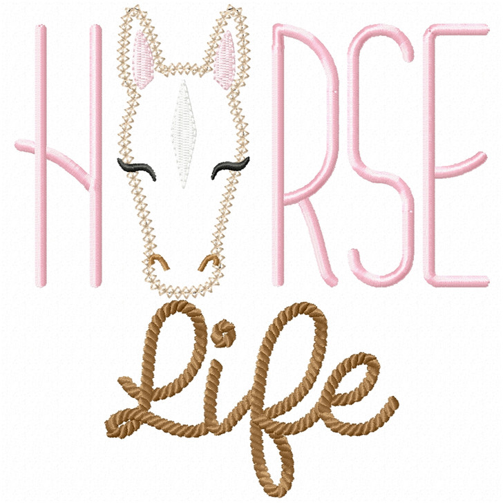 Horse Life Vintage and Chain Stitch