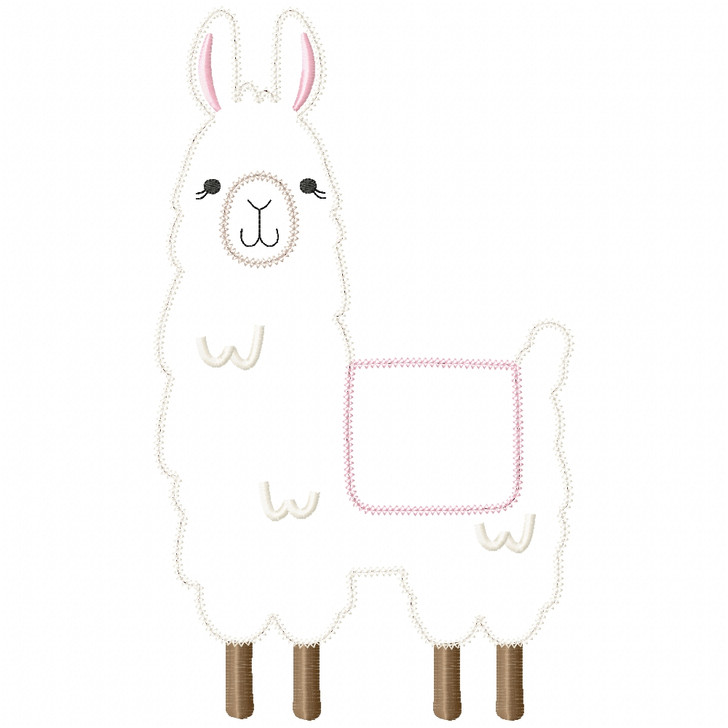 Llama 2 Vintage and Chain Stitch