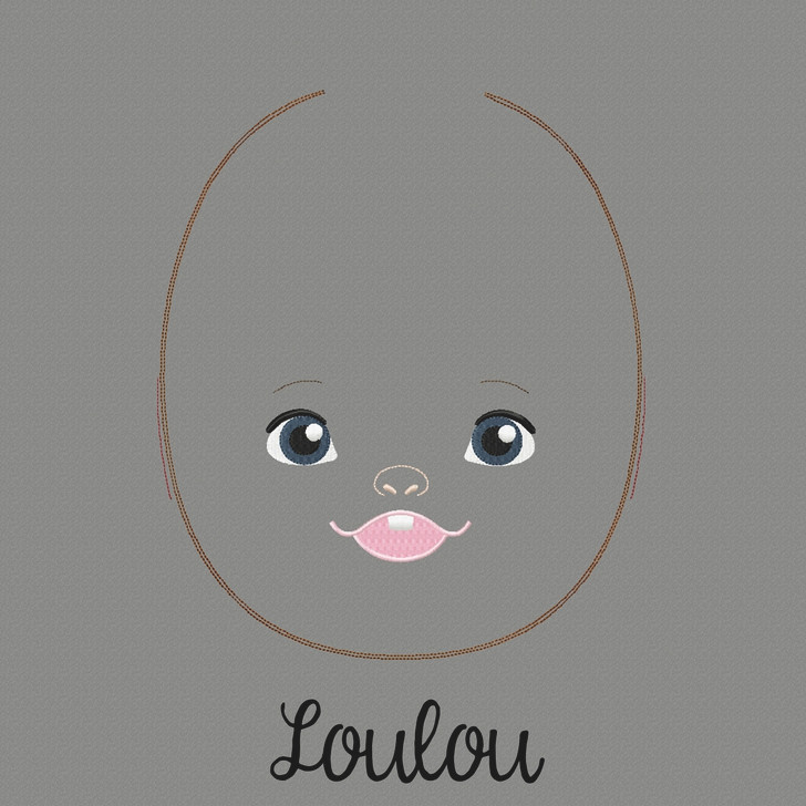 Lou Lou Doll Faces Addon
