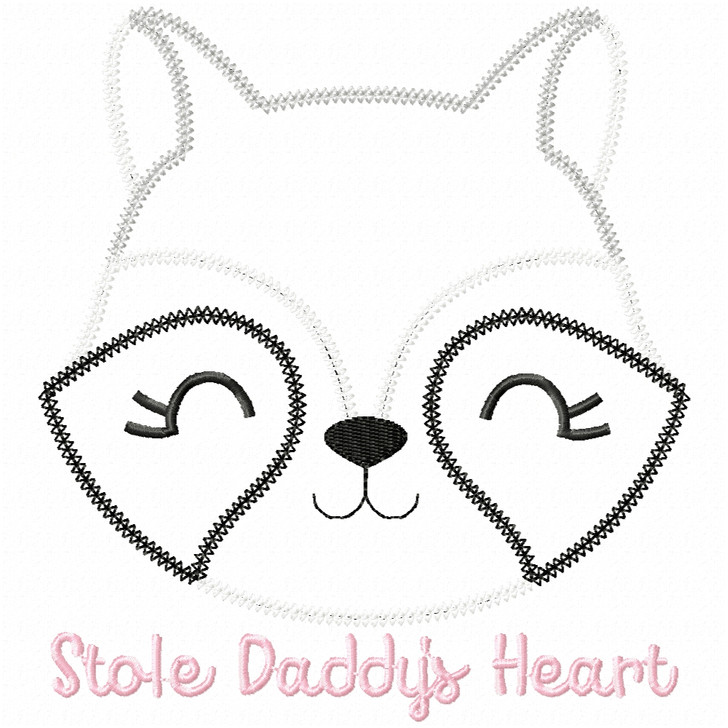 Stole Daddys Heart Vintage and Chain Applique