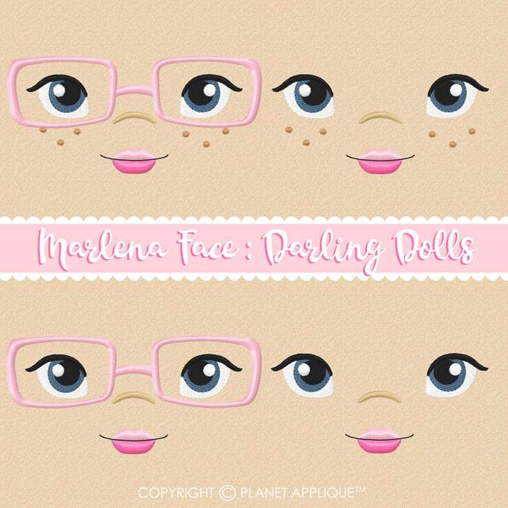 Marlena Face Styles For Darling Dolls