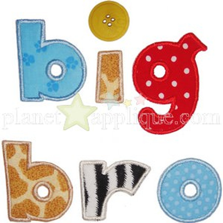 Sibling Brother Applique